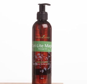 The Oil House | Cel-Lite Magic Massage Oil | Perfect for Firming Skin Texture.