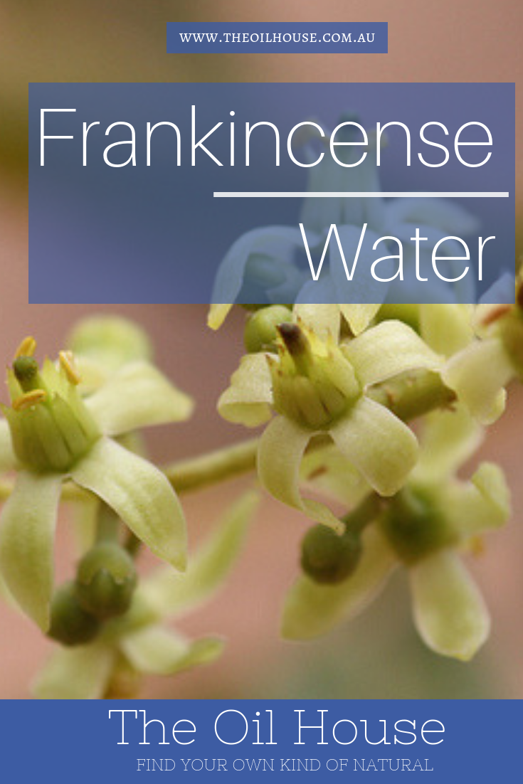 Frankincense Water | The Oil House | All natural flavouring of frankincense