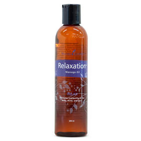 The Oil House | Relaxing Massage Oil | Pure essential oil blended massage oil perfect for relaxation.