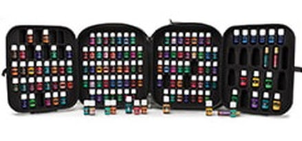 The Oil House | This carry case will keep your collection of 120 essential oils and oil blends safe. For those who want everything.