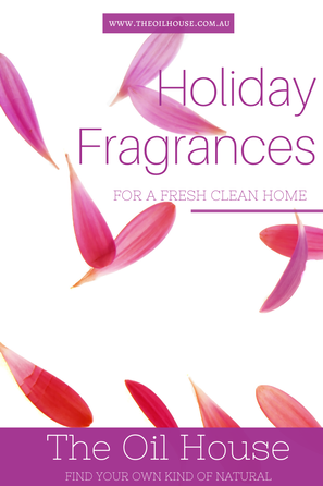Holiday Fragrance for a Fresh Clean Home