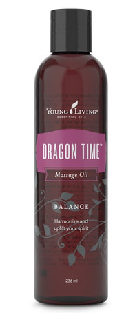 Emotional Balancing Oil | The Oil House | Dragon Time Massage Oil for women during their monthly cycle.