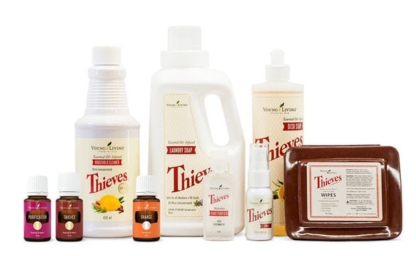 Thieves Cleaning Products | The Oil House | Thieves Natural Cleaning
