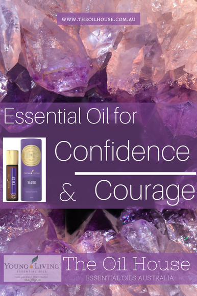 The Oil House | Essential Oil for Confidence & Courage | Valor Oil Blend is useful for times when you feel timid.